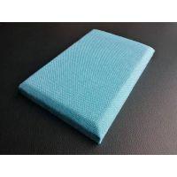 质感柔软 零噪音 阻燃装饰布艺皮革软包吸音板