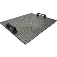 光学平板,铝合金平板,不锈钢平板,光学面包板支持定制各种尺寸规格品牌武汉华创微振