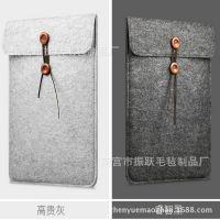 新款毛毡笔记本苹果电脑包创意macbook/ipad礼品平板内胆包保护套