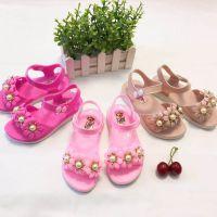 揭阳塑料拖鞋2018新款夏季女童韩版凉鞋舒适耐磨室外凉鞋厂价直销