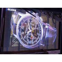 ?璃栈道特效屏 幕墙led P3.91透明屏 商场LED互动透明屏