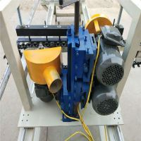 厂家供应双端自动送料五碟锯开榫机zlhx-23榫头机