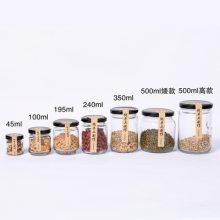 新款定制宏华玻璃瓶酱菜瓶厂家350毫升