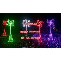 定做树上发光灯串 led 双向发光图案灯 街道点缀灯 新年亮化灯具