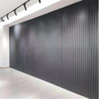 地砖冲孔板,800瓷砖展架方孔板,盐城展厅展架冲孔板