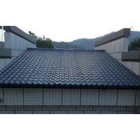 北京大兴区树脂瓦、国标别墅专用瓦 厂家自销送货上门