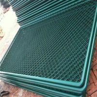羽毛球场护栏网 勾花网护栏 动物园防护网
