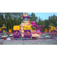 厂家直销 儿童游乐设备 2人一舱旋转类新型游乐设备 欢乐海洋价位市场行情