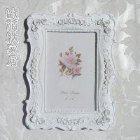 6寸特价促销纯白婚纱相框创意时尚相架影楼摆台照片框奇特礼品