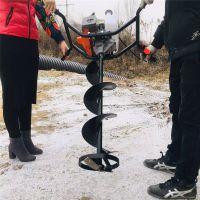 富兴冰面钻洞机 建筑施工钻洞机 栽柱子用的打孔机参数