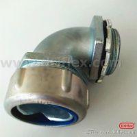 90度锌合金软管接头 端接式外牙直头一洋品牌供应