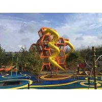 非标定制滑梯 儿童户外无动力 大型游乐设备 爬网 游乐场设施厂家直销