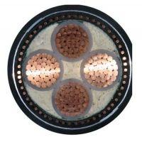 供应阳谷齐鲁牌裸铜线多芯交联塑料绝缘聚氯乙炔护套电力电缆 YJV 3*120+2