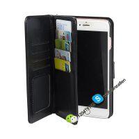供应出口多功能插卡钱包 苹果iphone手机皮套 多合一可拆拉链钱包手机保护套