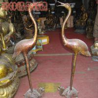 厂家直销鹤登龟烛台铜雕塑  铸铜纯铜龙龟动物铜雕塑供应厂家