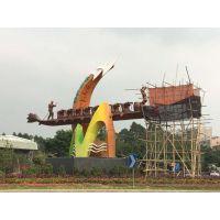广东地标雕塑,广东龙舟雕塑,大型雕塑厂家