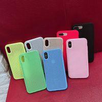 抖音三星iPhone6s镂空液态硅胶防摔壳苹果7/8耐脏防水透气手机壳x