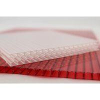 新华pc阳光板三层透明矩形阳光板台创板业