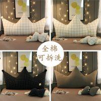 ins靠枕1.5米抱枕卧室软包公主风床头靠垫大靠背简约一件代发