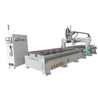 诺承NC-1325L柜体数控生产线 板式家具下料机 全自动雕刻机价位