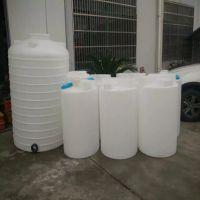 宁波朗顺pe水箱 耐酸碱食品级塑料雨水桶 300升一次成型无缝塑料桶