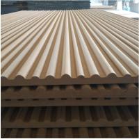 专业雕刻定制造型板畅销半圆坑凹槽纹装饰板立体波浪板