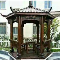 防腐木凉亭、廊架设计 制作-晋城承接园林景观 建造施工