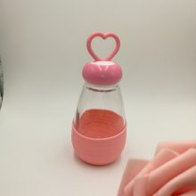 厂家直销玻璃杯定制LOGO雨滴杯创意玻璃水杯