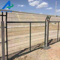 铁路金属防护栅栏价格球场防护网