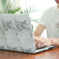苹果笔记本macbook 13 保护壳air配件pro电脑外壳套 防摔大理石