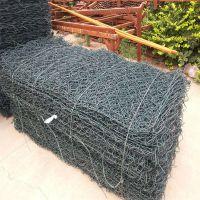 石笼网垫护岸 湖南5%锌铝石笼网价格 铅丝笼型号