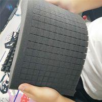 方格子网格状海绵内衬芯片定位手撕海绵网格成型