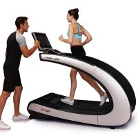 JW匠维 跑步机 家用静音智能健身器材 减震宽跑带商用级家庭跑步机 LED18.5吋经典银