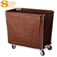 专业生产SITTY斯迪90.3202不锈钢斜柱服务车/酒店布草车/酒店服务车