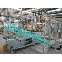 【安腾】工业铝型材机器人密炼车间封闭式隔断