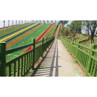 实力厂家山东泰臻大量现货水泥仿木护栏优惠仿竹护栏