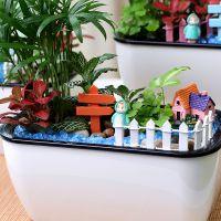 绿植微盆栽组合景观DIY手工装饰摆件办公桌面水培植物创意生态瓶