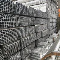 钢结构/焊接方管 A3铁方通 钢带薄壁管 不定尺寸规格量大可定制_友发热镀锌管