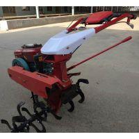 小型手推款耕地机 汽油旋耕机 手推式松土机