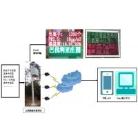 太阳能旅游区负氧离子PM2.5在线检测仪直销厂家碧如蓝