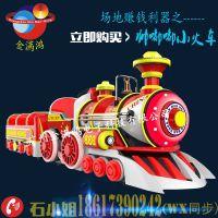 金满鸿帅嘟嘟中型小火车无轨火车厂家直销儿童电瓶车