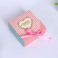 2017新款小号创意包装盒 批发蓝粉两款蝴蝶结S902情人节礼盒