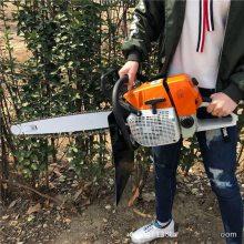 链锯板式的汽油断根机 润丰 现代移植新办法合资挖树机