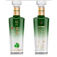 500ml白酒玻璃瓶,喷涂烤花酒瓶价格,玻璃酒瓶厂家