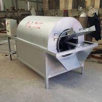 不锈钢滚筒炒货机 花生炒货机 电加热炒货滚筒炒锅环保高效