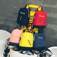 厂家直销双肩包女2018新款韩版潮时尚百搭旅行包帆布女包包