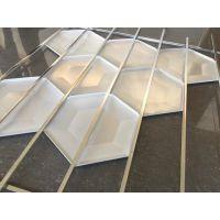 供应新型凸型铝天花 梯形铝扣板吊顶
