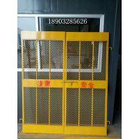 施工电梯防护门建筑升降机防护棚生产厂家价格
