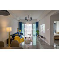 重庆珊瑚水岸两居室 现代风格 实景案例图