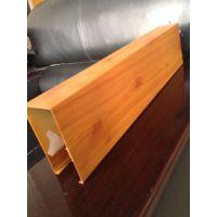 广州木纹铝方通厂家 热转印木纹铝方通 亭宇工艺